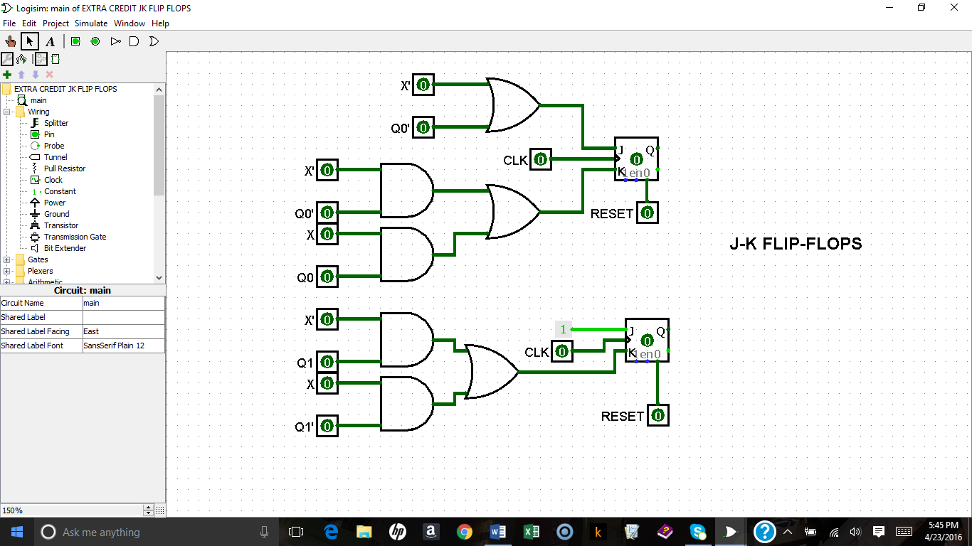 Logic Diagram And Truth Table Of Jk Flip Flop - Wiring ...